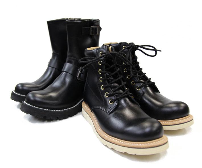 """""""黒""""のブーツ"""