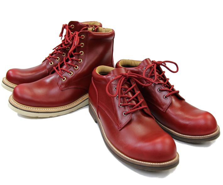 """""""赤""""のブーツ"""